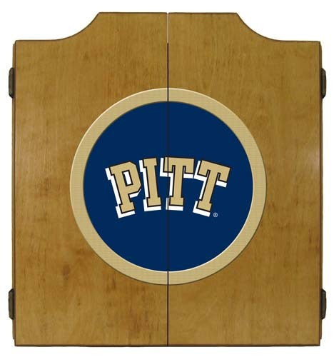 Pittsburgh Panthers Dartboard Cabinet