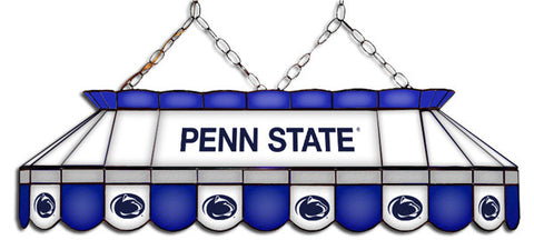 Penn State Nittany Lions Stained Glass Pool Table Light