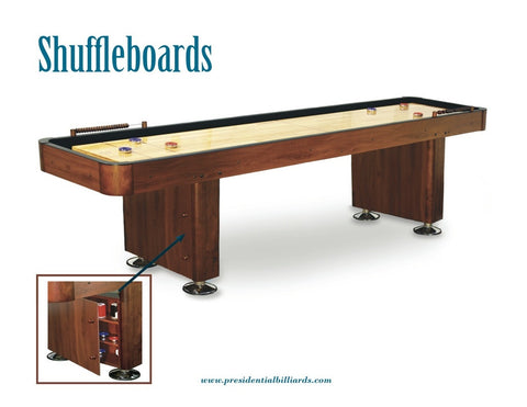 9' Presidential Shuffleboard Table