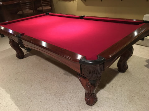 (SOLD) Used Kasson 8' Pool Table Consignment - PRICE REDUCED
