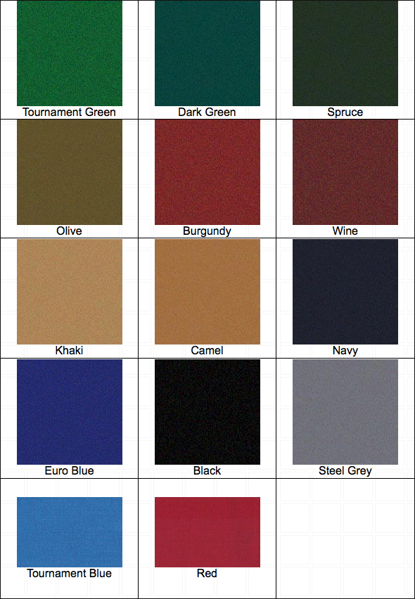ProForm Worsted Pool Table Cloth