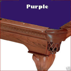 Pro 8' Oversized Proline Classic 303T Teflon Pool Table Felt - Purple
