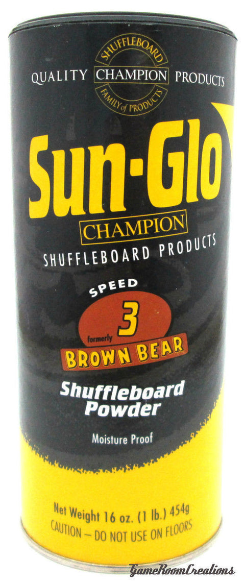 Sun-Glo #3 Shuffleboard Powder Wax