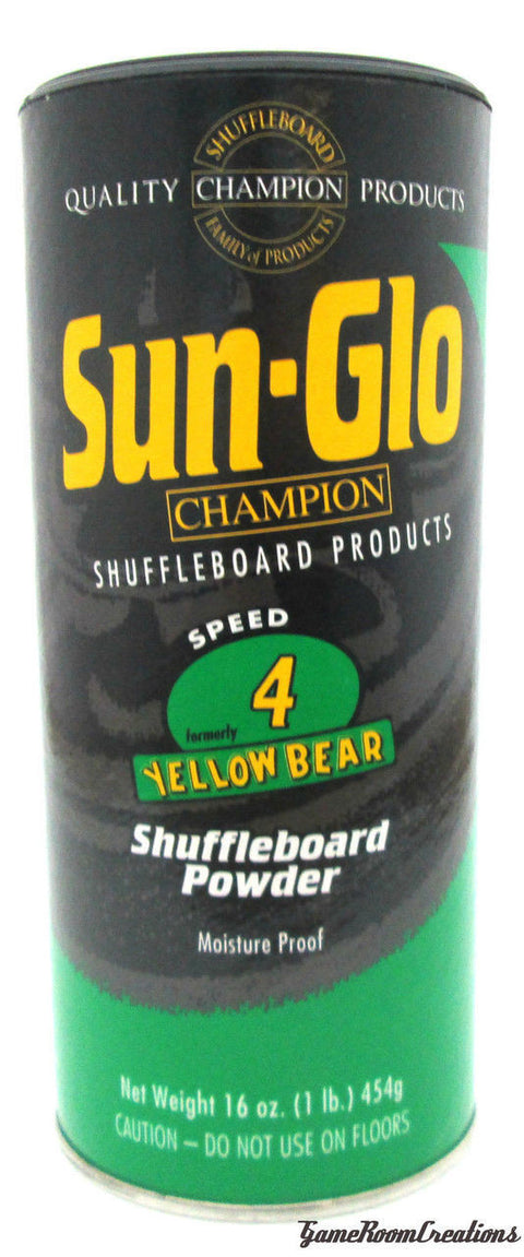 Sun-Glo #4 Shuffleboard Powder Wax
