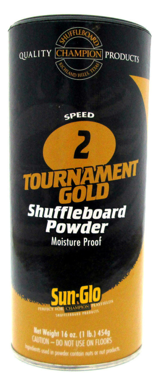 Sun-Glo #2 Shuffleboard Powder Wax