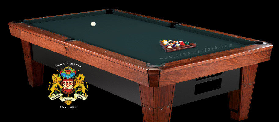 8' Simonis 860 Pool Table Cloth - Spruce