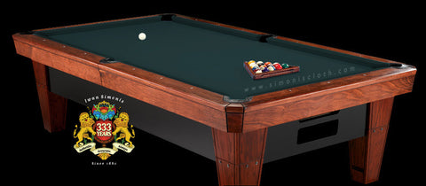 Pro 8' Simonis 860 Pool Table Cloth - Spruce