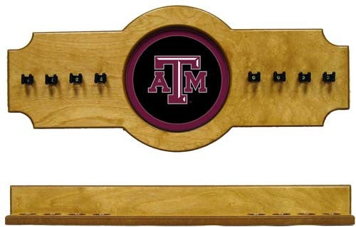 Texas A&M Aggies 2-Piece Hanging Cue Rack