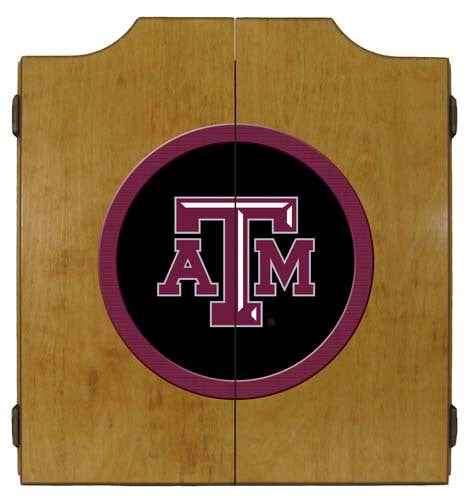 Texas A&M Aggies Dartboard Cabinet