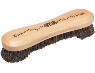Outlaw Deluxe 10.5 in. Horse Hair Bristle Pool Table Brush