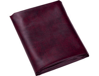 7 ft. Wine Naugahyde Fitted Pool Table Cover