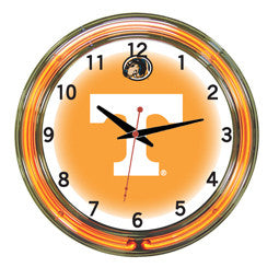 "Tennessee Volunteers 18"" Neon Clock"