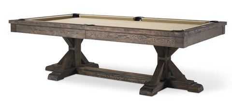 Plank & Hide Thomas Pool Table - coolpooltables.com