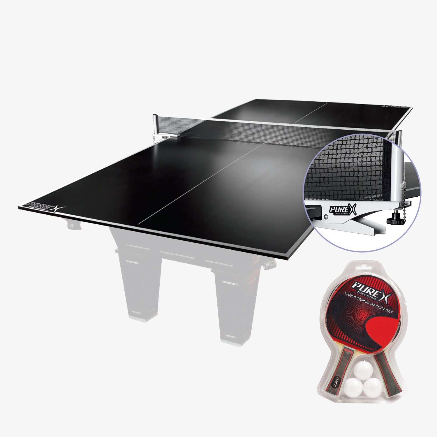 PureX Ping Pong Table Tennis Conversion Top