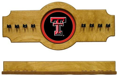 Texas Tech Red Raiders 2-Piece Hanging Cue Rack