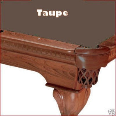 Pro 8' Oversized Proline Classic 303T Teflon Pool Table Felt - Taupe