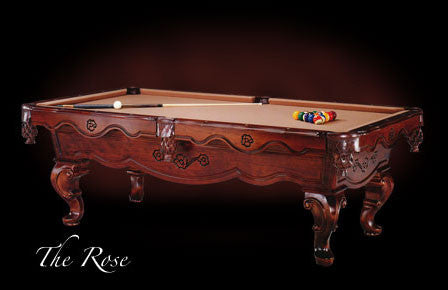 Marvelous Craftmaster Rose Pool Table   Coolpooltables.com