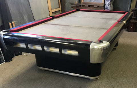 (SOLD) Used 9' Top Line Pool table vintage (1950's?)