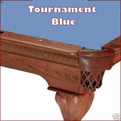 Pro 8' Oversized Proline Classic 303T Teflon Pool Table Felt - Tournament Blue