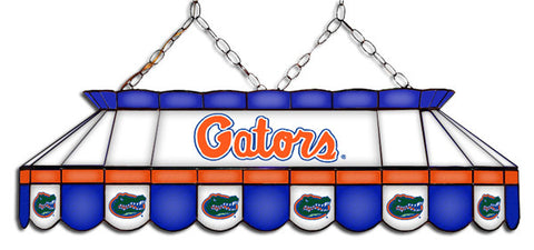 Florida Gators Stained Glass Pool Table Light