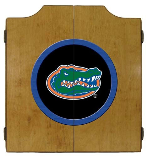 Florida Gators Dartboard Cabinet