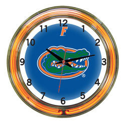 "Florida Gators 18"" Neon Clock"