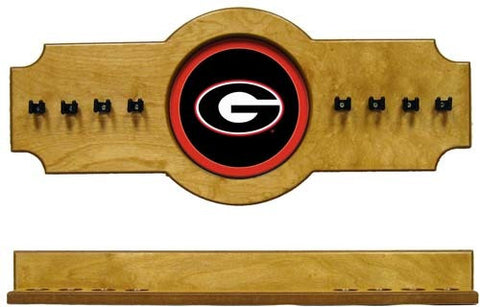 Georgia Bulldogs 2-Piece Hanging Cue Rack