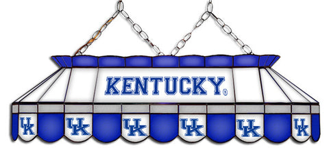 Kentucky Wildcats Stained Glass Pool Table Light