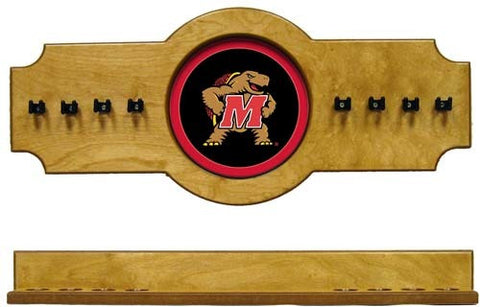 Maryland Terrapins 2-Piece Hanging Cue Rack