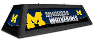"Michigan Wolverines 42"" Pool Table Light"