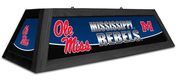 "Ole Miss Rebels 42"" Pool Table Light"