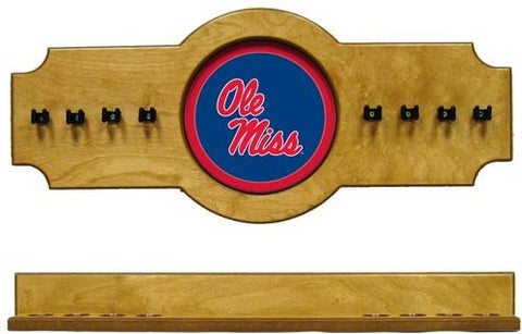 Ole Miss Rebels 2-Piece Hanging Cue Rack