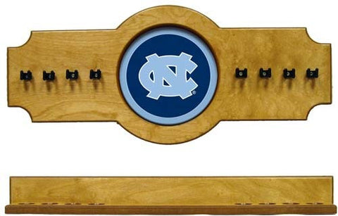 North Carolina Tar Heels 2-Piece Hanging Cue Rack