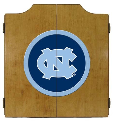 North Carolina Tar Heels Dartboard Cabinet
