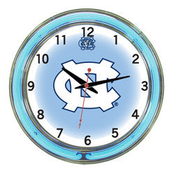 "North Carolina Tar Heels 18"" Neon Clock"