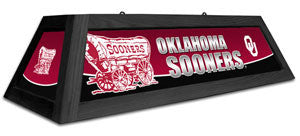 "Oklahoma Sooners 42"" Pool Table Light"