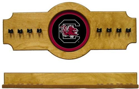 South Carolina Gamecocks 2-Piece Hanging Cue Rack