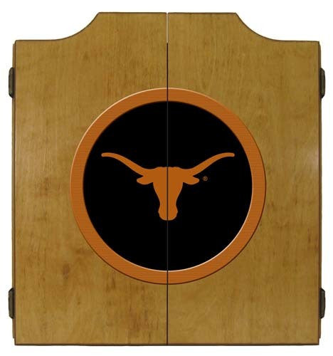 Texas Longhorns Dartboard Cabinet