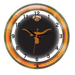 "Texas Longhorns 18"" Neon Clock"