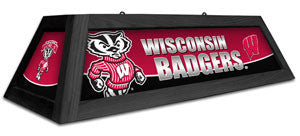 "Wisconsin Badgers 42"" Pool Table Light"