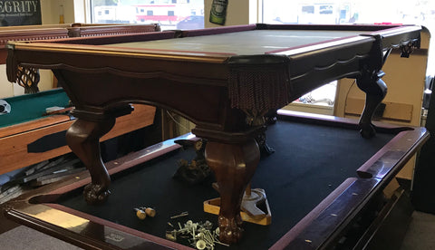 Used 8' Peter Vitalie pool table