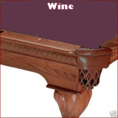 10' Proline Classic 303 Pool Table Felt - Wine