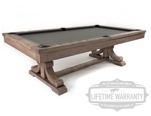 Presidential Carmel Pool Table - coolpooltables.com