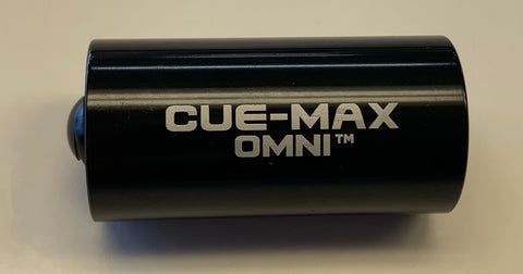 Cue-Max Omni 5/16x14 to Uni-loc Weighted Cue Extension - Size 1, Black