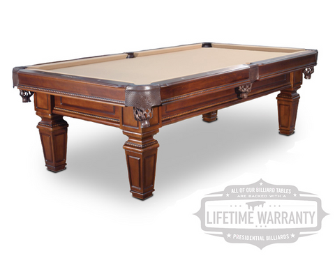 Presidential Hartford Pool Table - coolpooltables.com