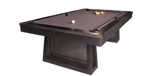 Plank & Hide Ixabel Pool Table - coolpooltables.com