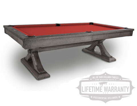 Presidential Kariba Pool Table - coolpooltables.com