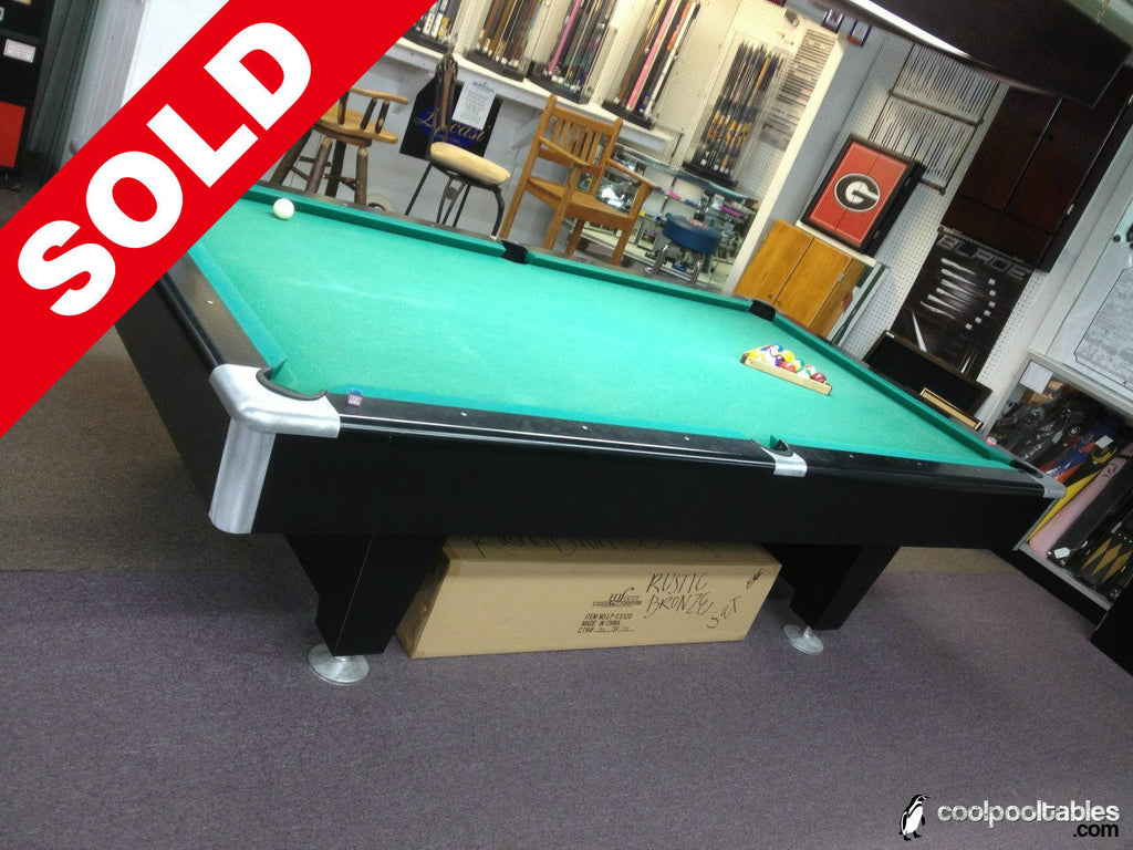 (SOLD) Used 9u0027 Kasson Aurora Pool Table