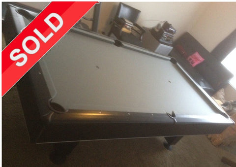 (SOLD) Used 8' Kasson Vermillion Pool Table