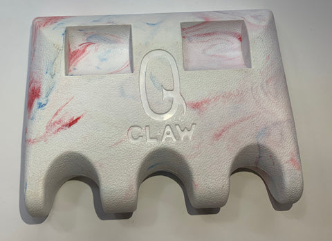 Q-claw 3 Cue Holder - Red White Blue W/ Coin Slot